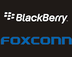 actualité : Blackberry s'allie à Foxconn
