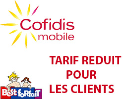 tarif pr f rentiel pour les clients cofidis. Black Bedroom Furniture Sets. Home Design Ideas