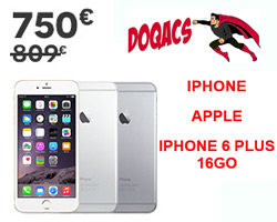 actualité : Bon plan iPhone 6 Plus 16go à 750€ chez Darty