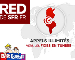 actualité : Forfait mobile red vers tunisie