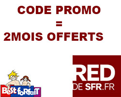 actualité : RED propose 2 mois offerts