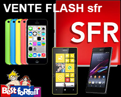 actualité : Vente Flash SFR